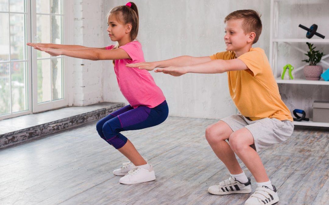 Evitemos el sedentarismo en niños con ejercicio en casa